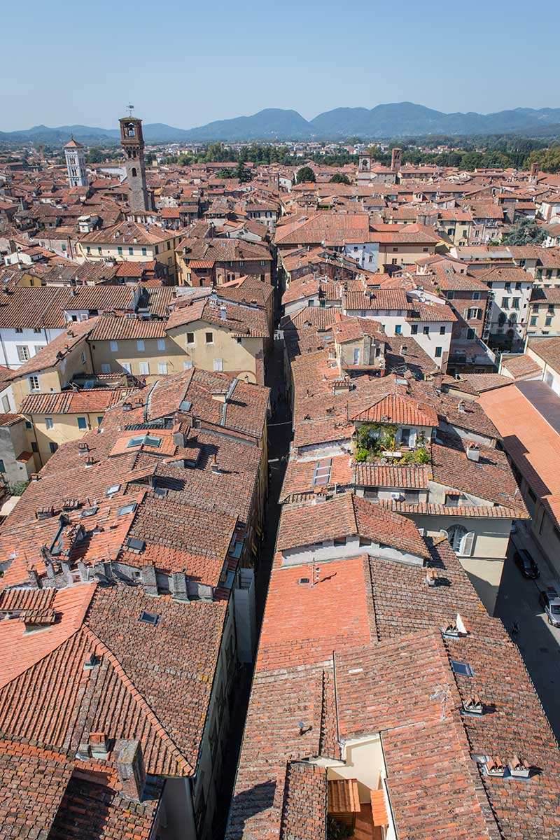 Above The Streets Of Lucca