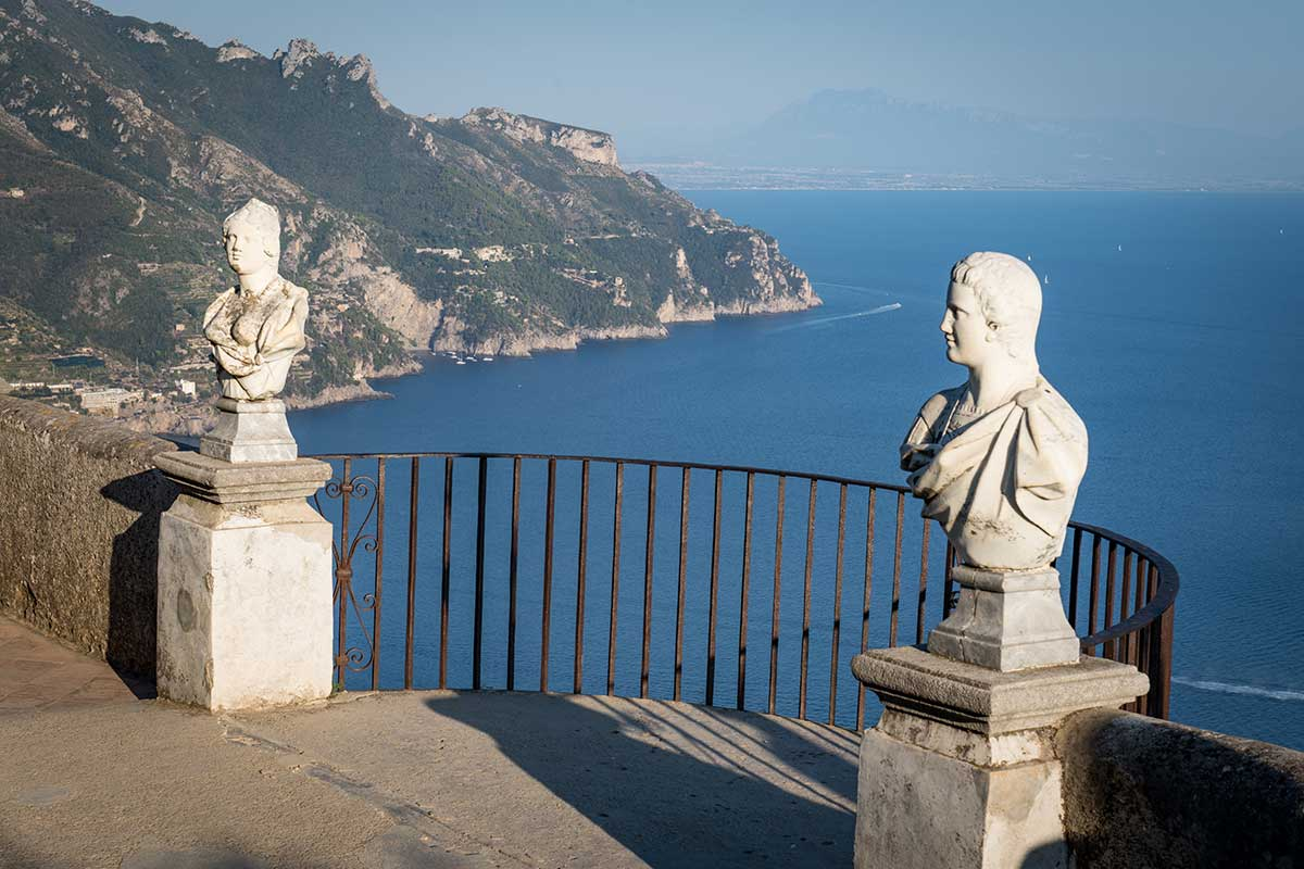 Amalfi Coast From The Terrace Of Infinity