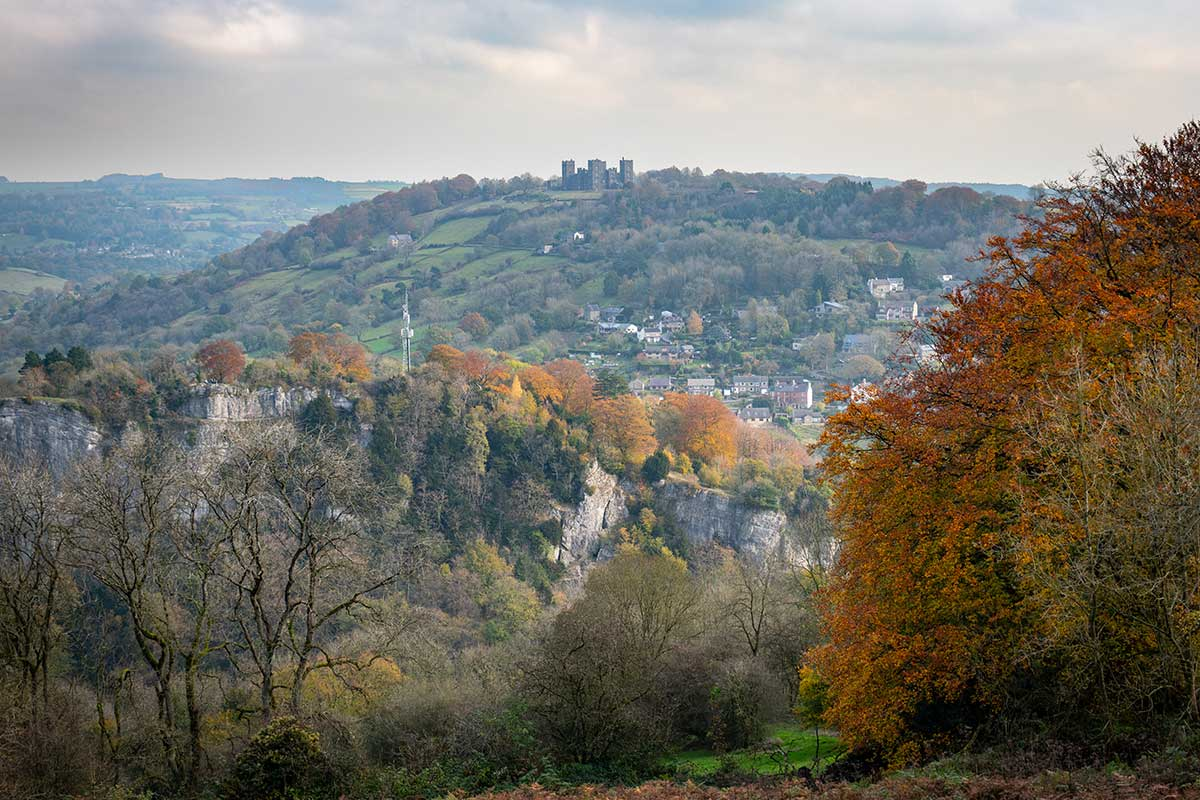 Autumn Colours In Matlock Bath