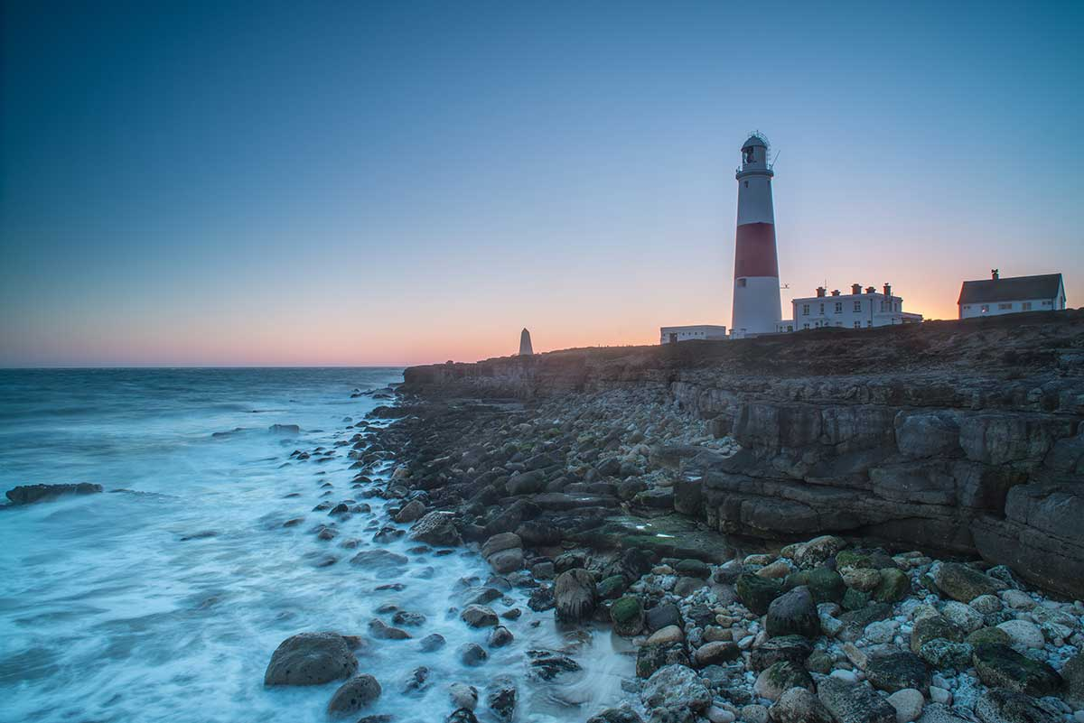 Blue Hour At Portland Bill