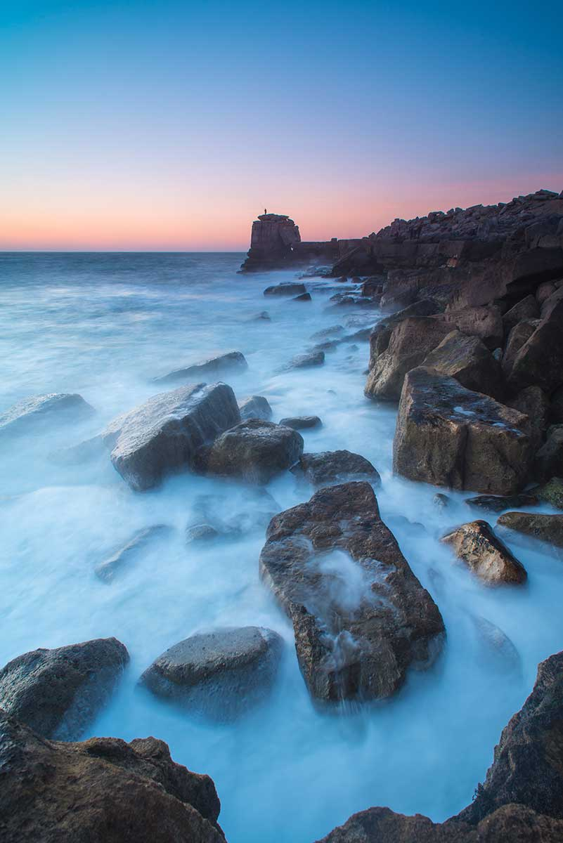 Blue Hour At Pulpit Rock