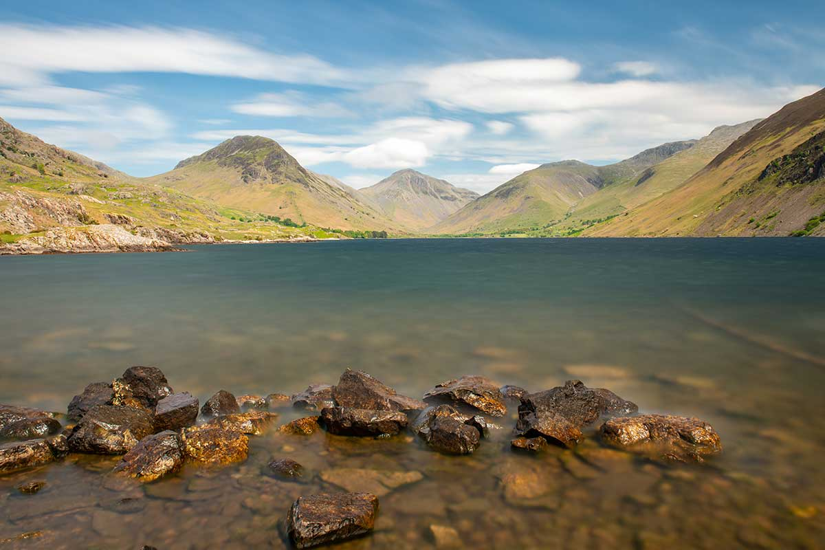 Calm at Wast Water - Lake District landscape photography by Stephen Banks