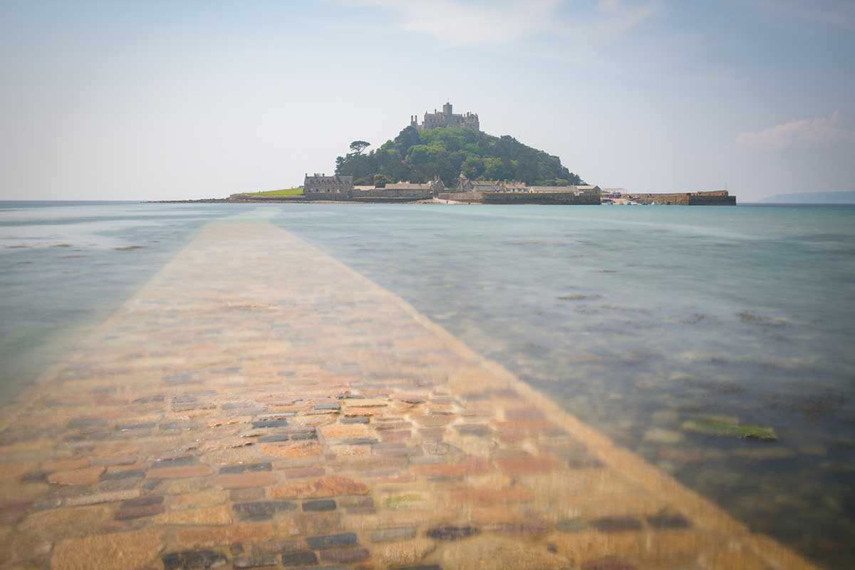 Changing Tide At St Michael's Mount