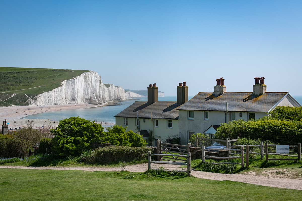 Coastguard Cottages At Cuckmere Haven