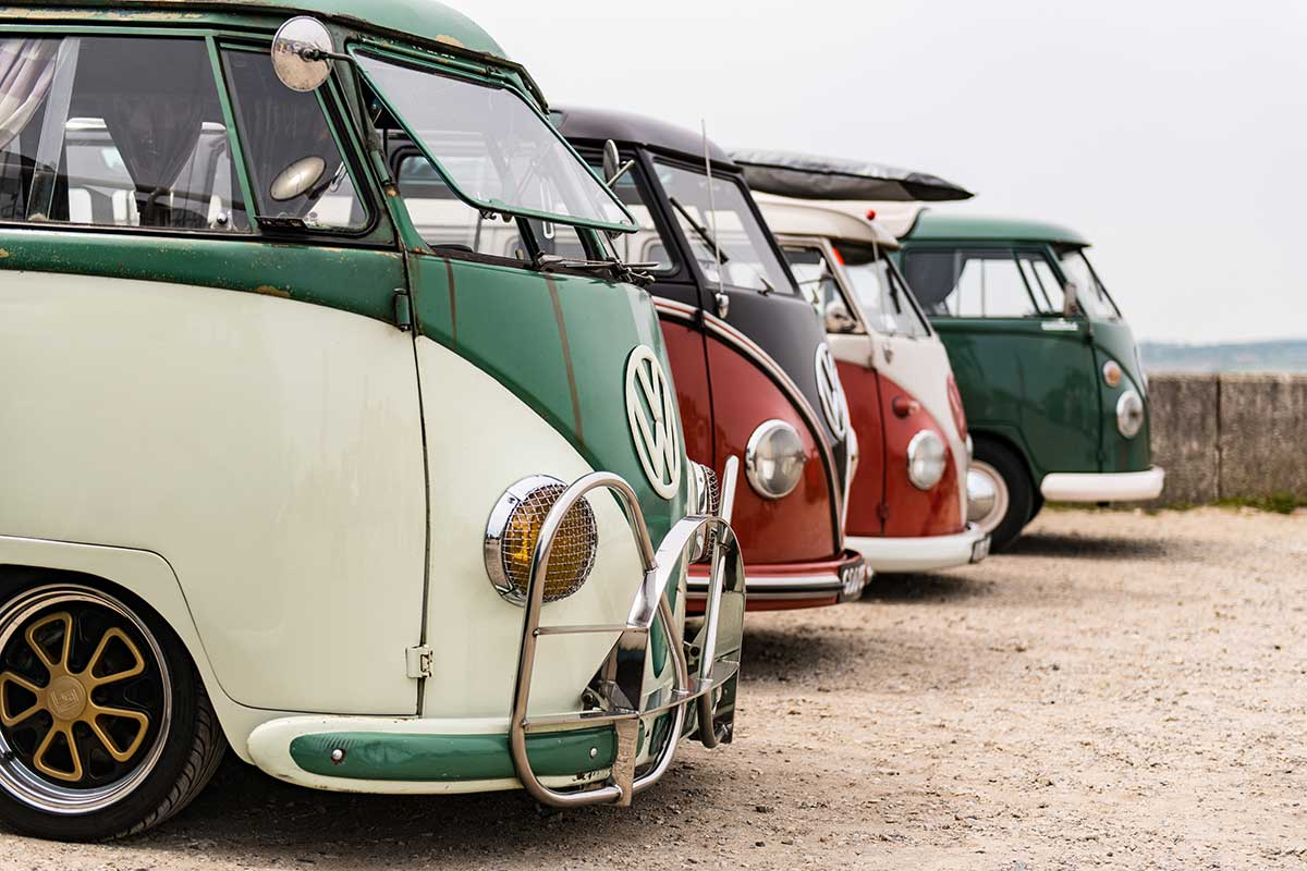 Dub Love - VW camper van photography by Stephen Banks