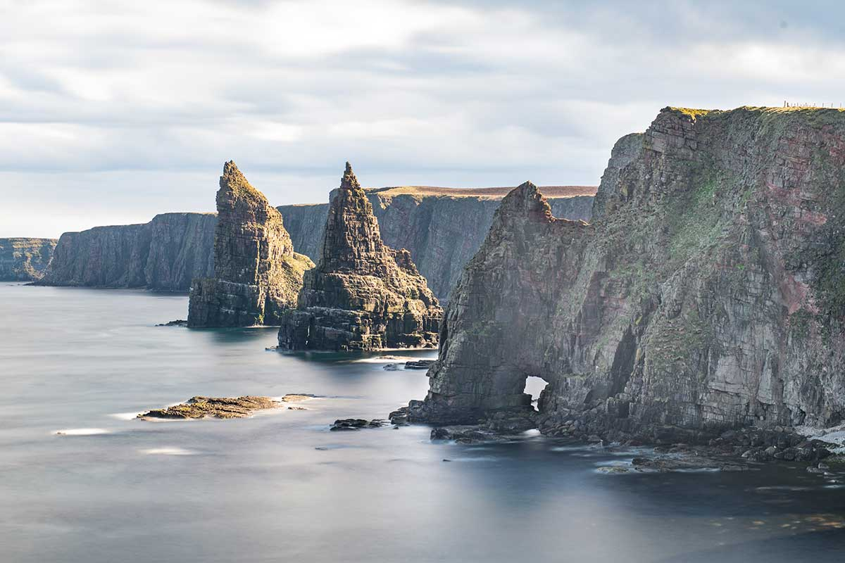 Duncansby Stacks - Scottish Highlands landscape photography by Stephen Banks