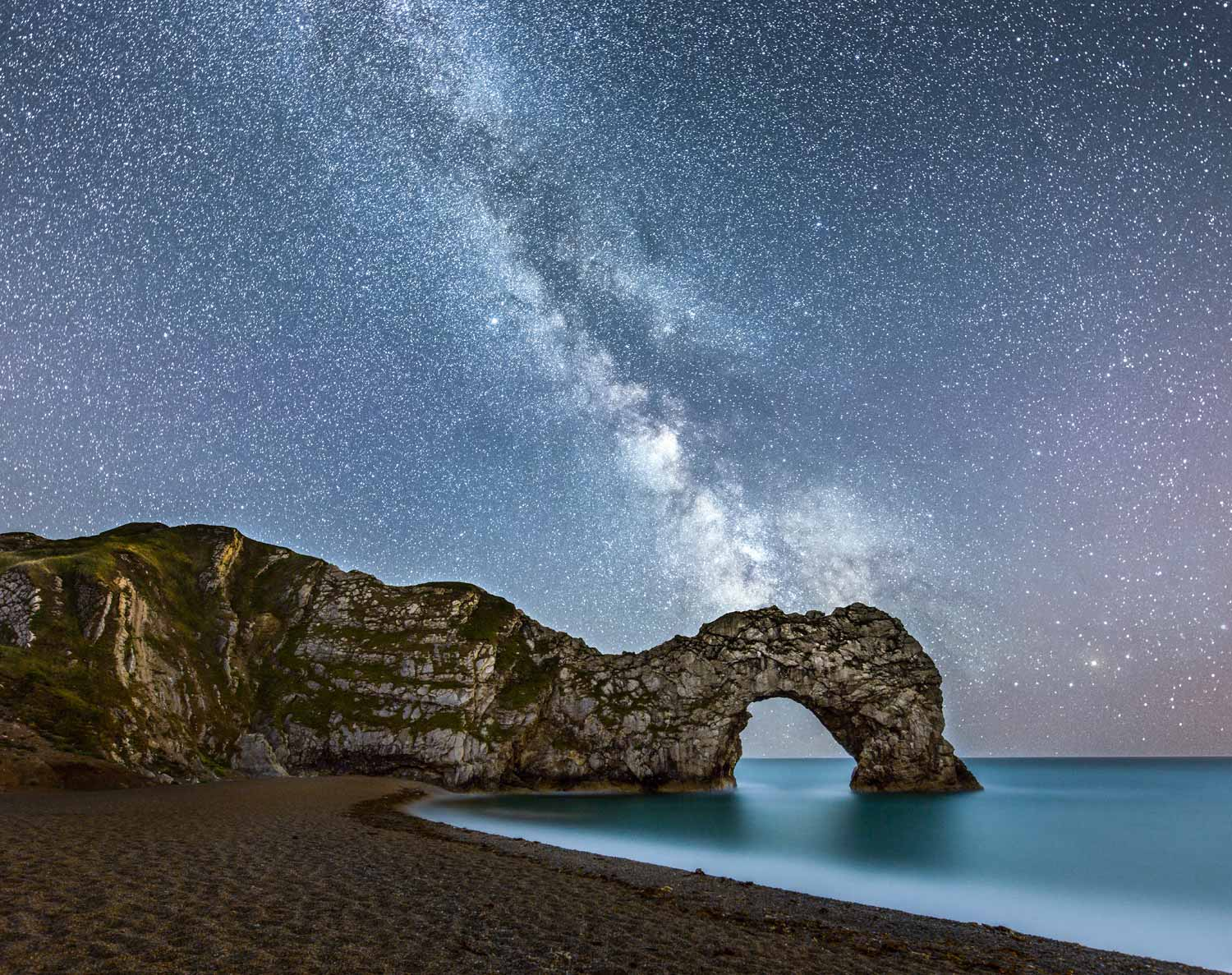 Durdle Door And The Galactic Core