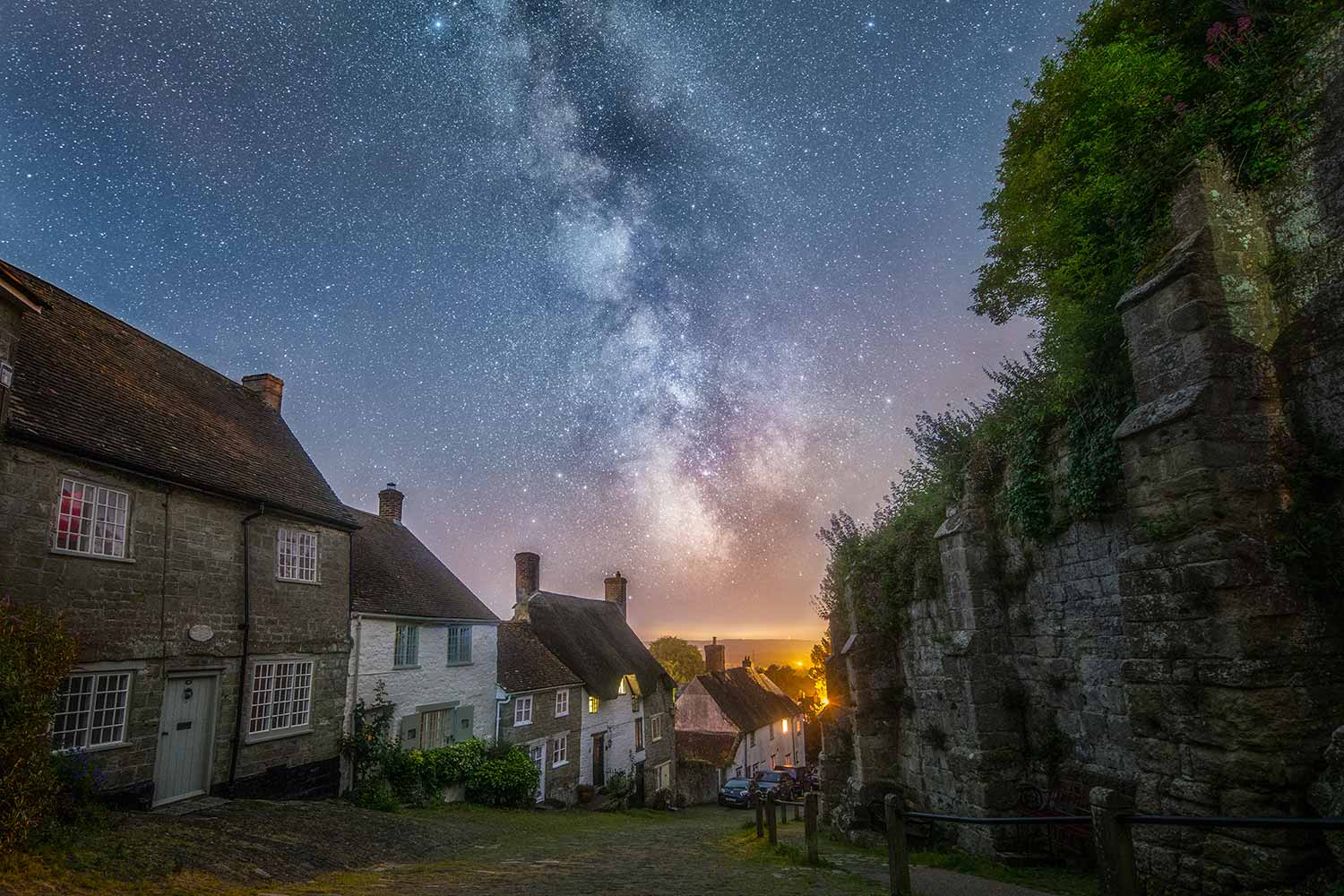 Gold Hill And The Cosmos