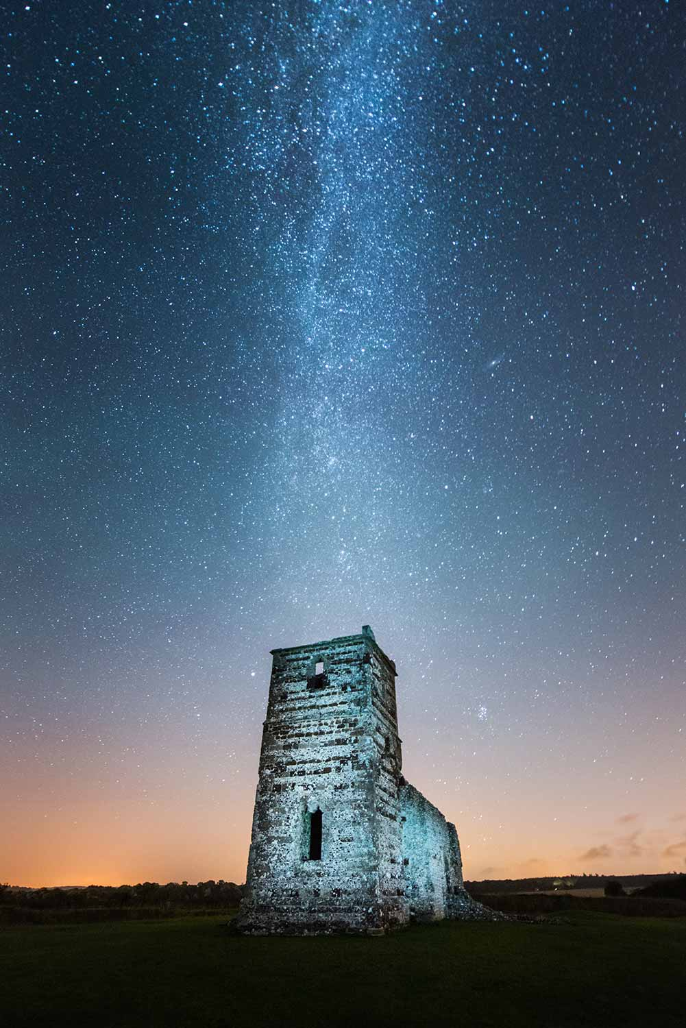Illuminated Knowlton Church