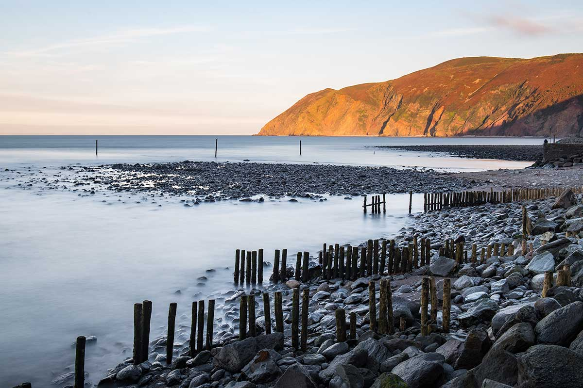 Last Light at Lynmouth - Devon landscape photography by Stephen Banks