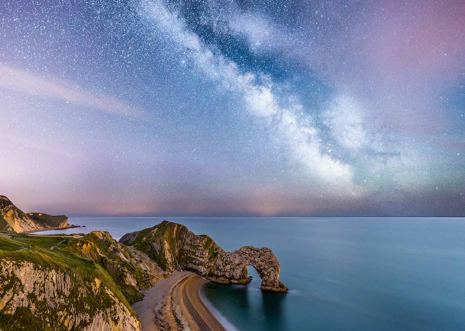 May's Milky Way Above Durdle Door