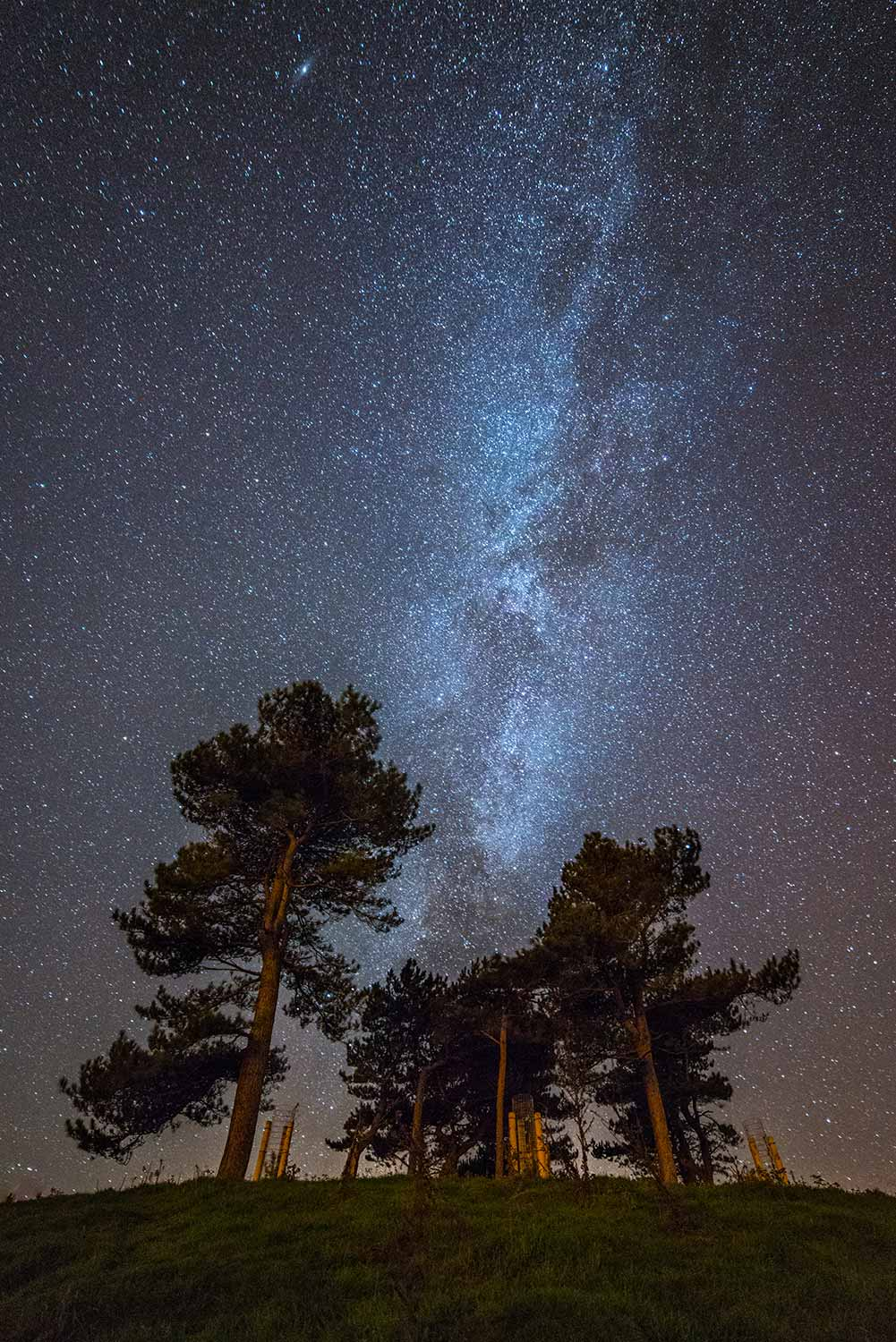 Milky Way Above Colmer's Hill