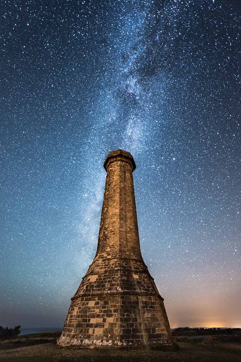 Milky Way Above Hardy's Monument