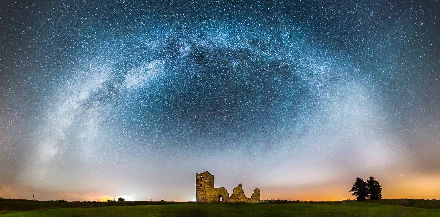 Milky Way Above Knowlton Church
