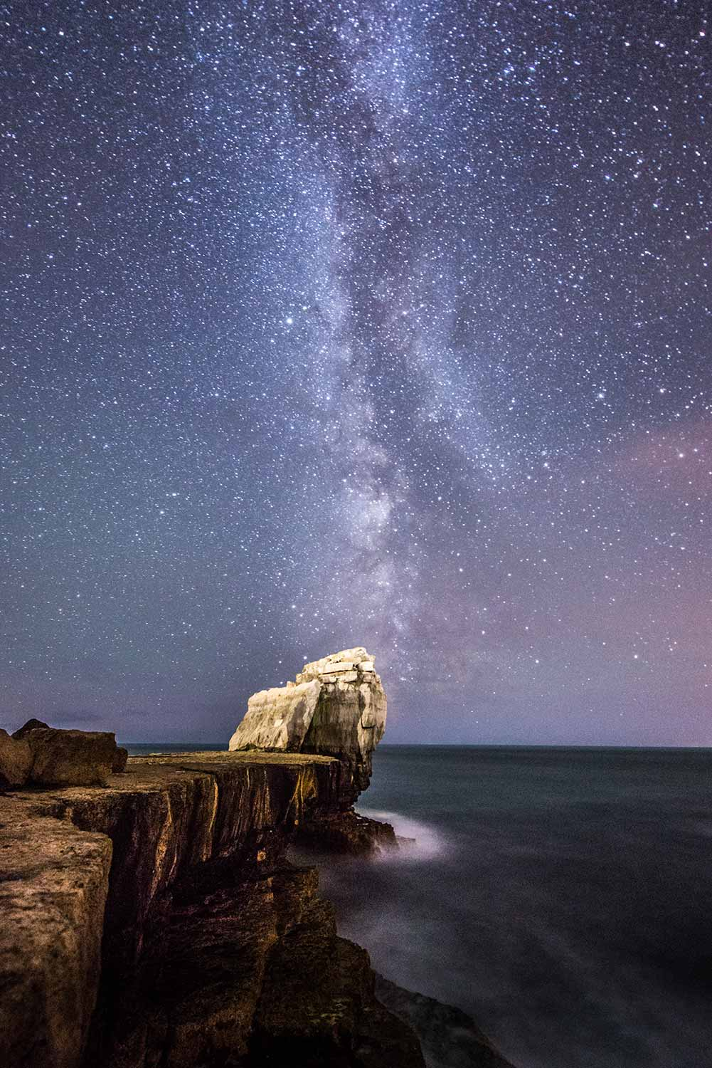 Milky Way Above Pulpit Rock