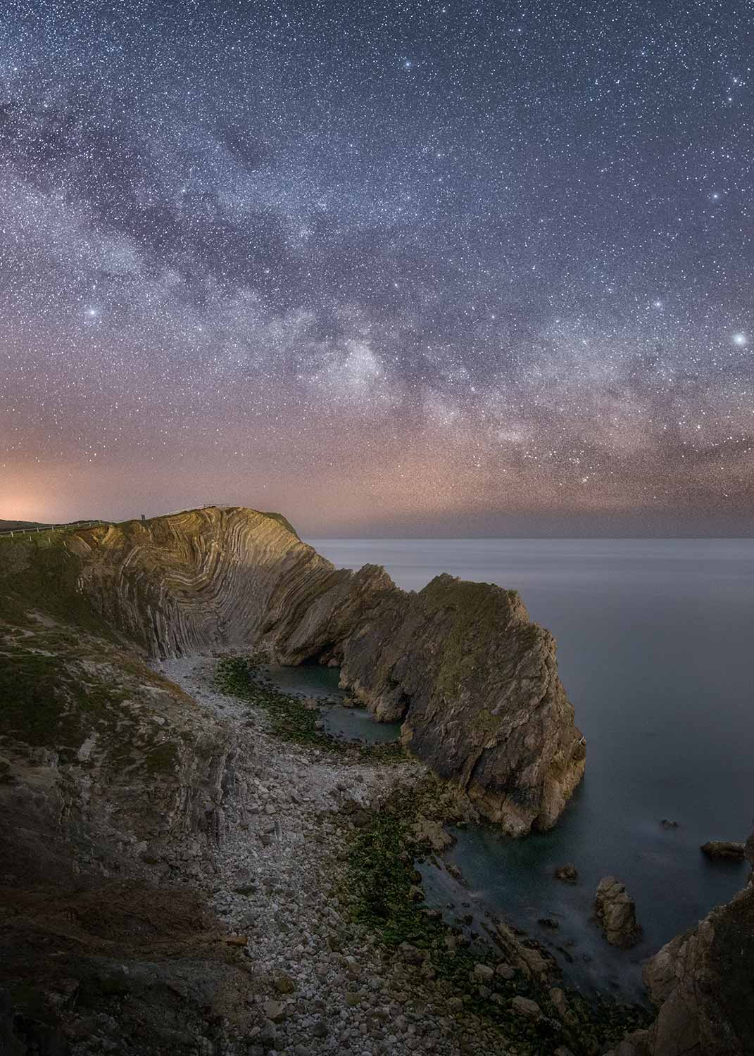Milky Way Above Stair Hole