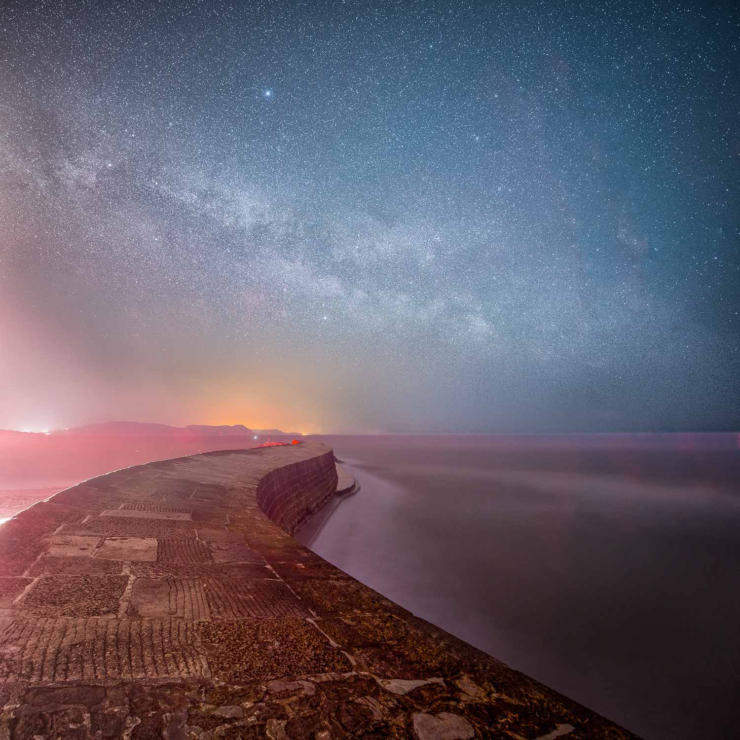Milky Way Above The Cobb