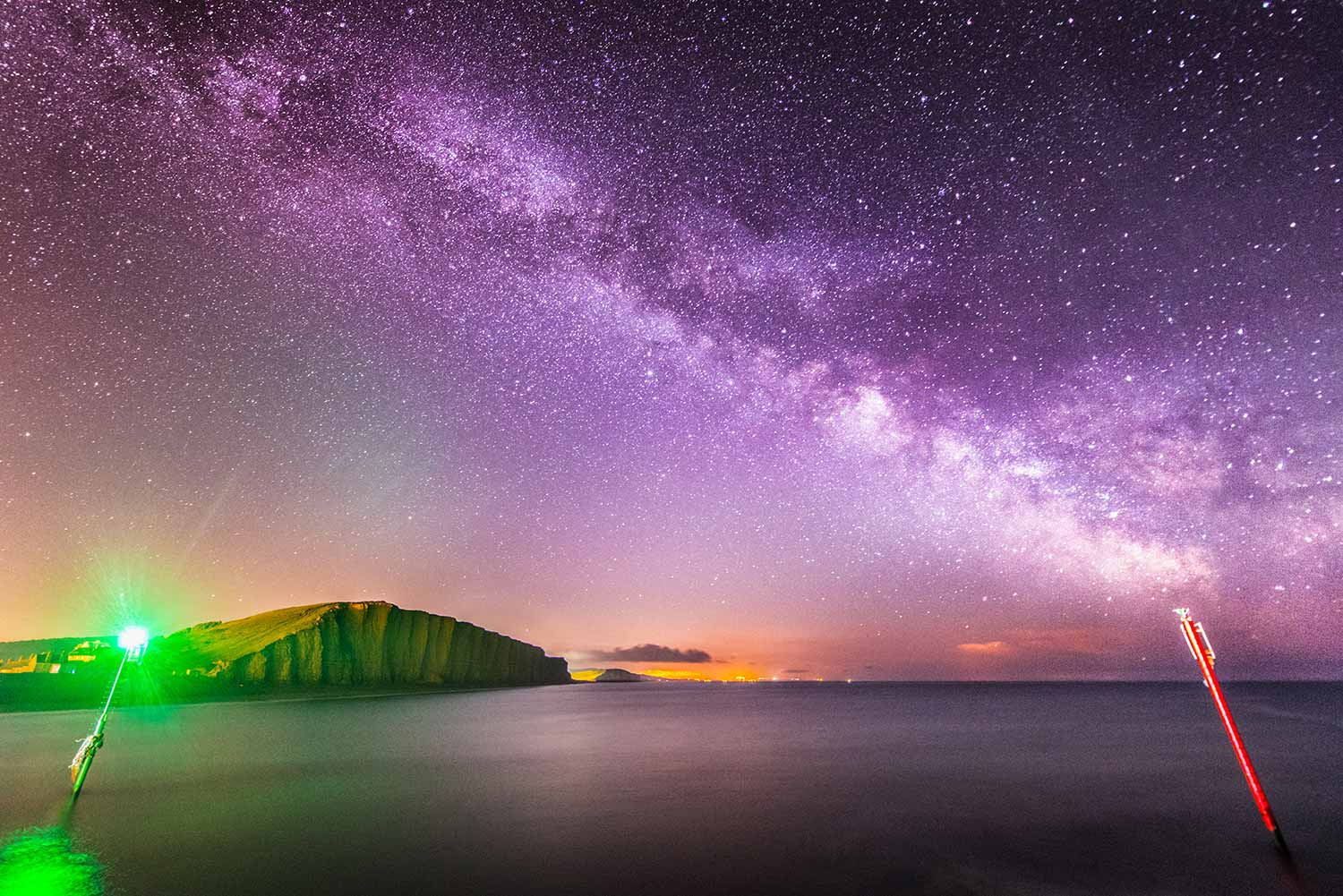 Milky Way Above West Bay