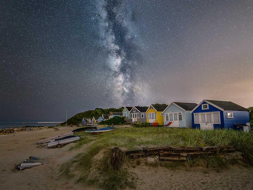 Milky Way At Mudeford