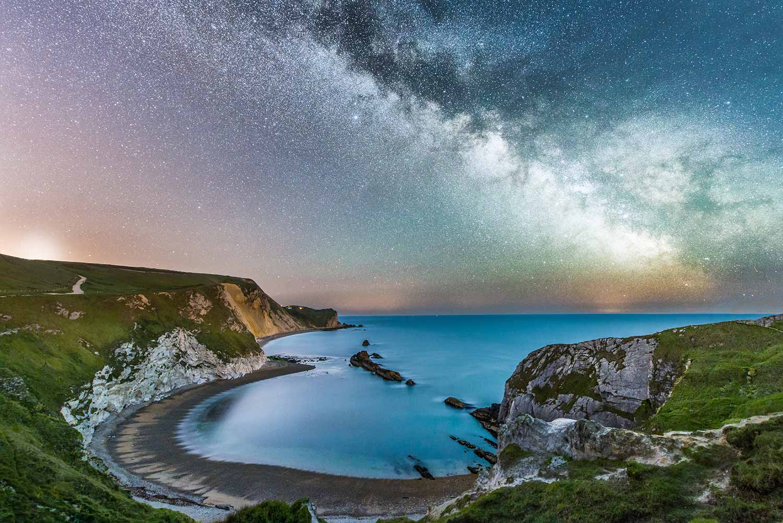 Milky Way O'er Man O' War Bay