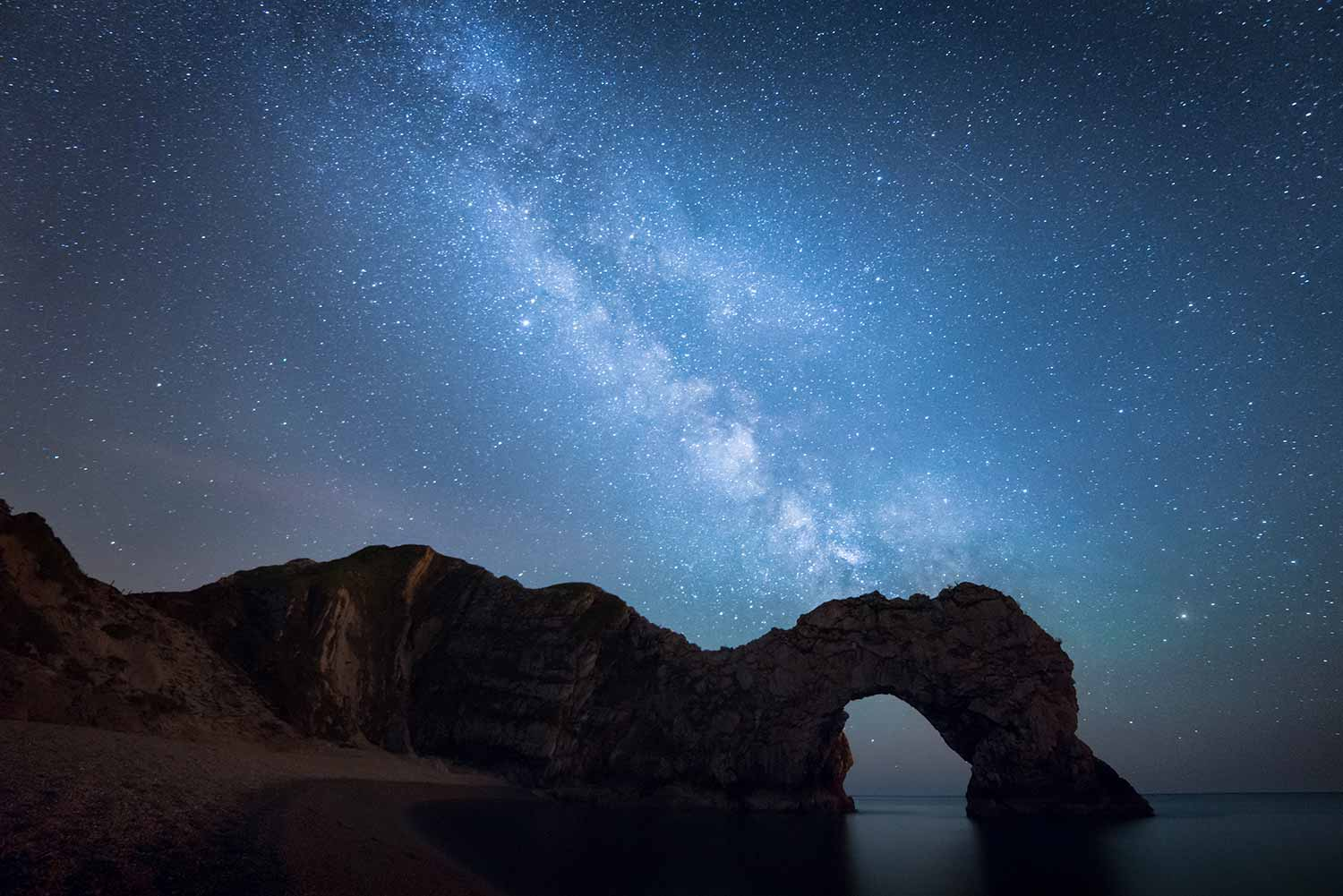 Milky Way Silhouettes Durdle Door