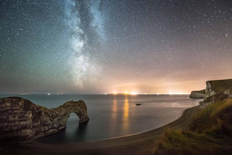 Milky Way West Of Durdle Door