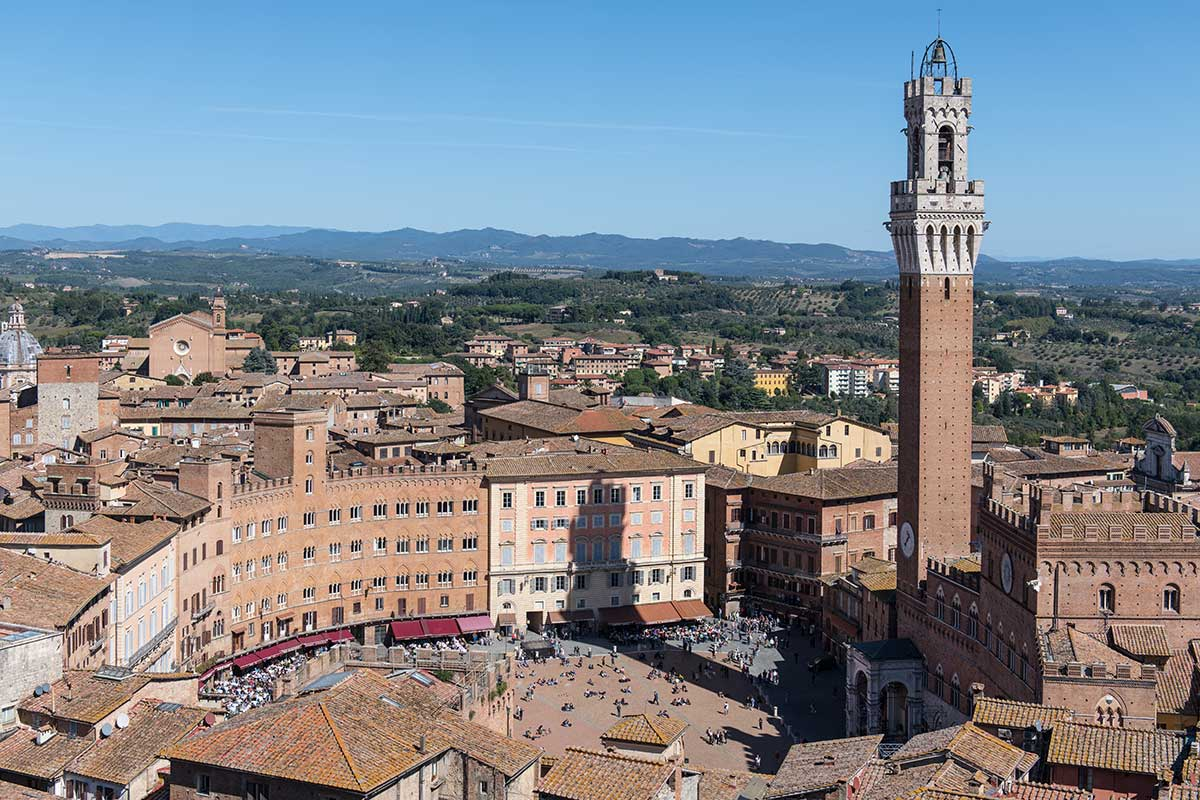Piazza Del Campo From Above