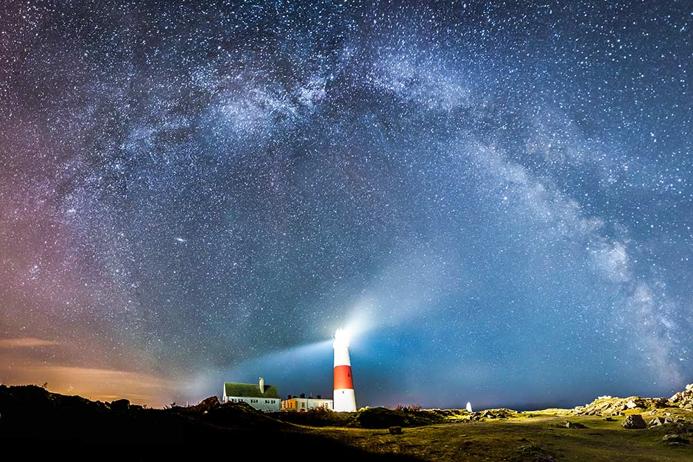 Milky Way Above Portland Bill