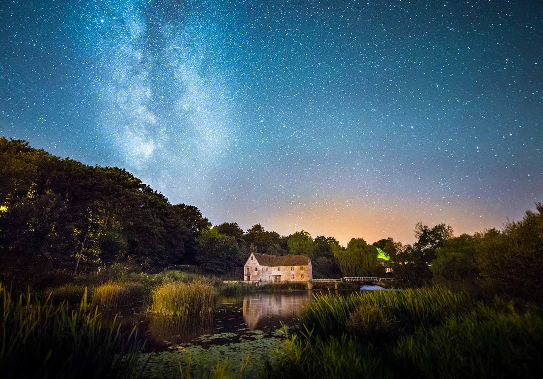 Sturminster Newton Mill By Night