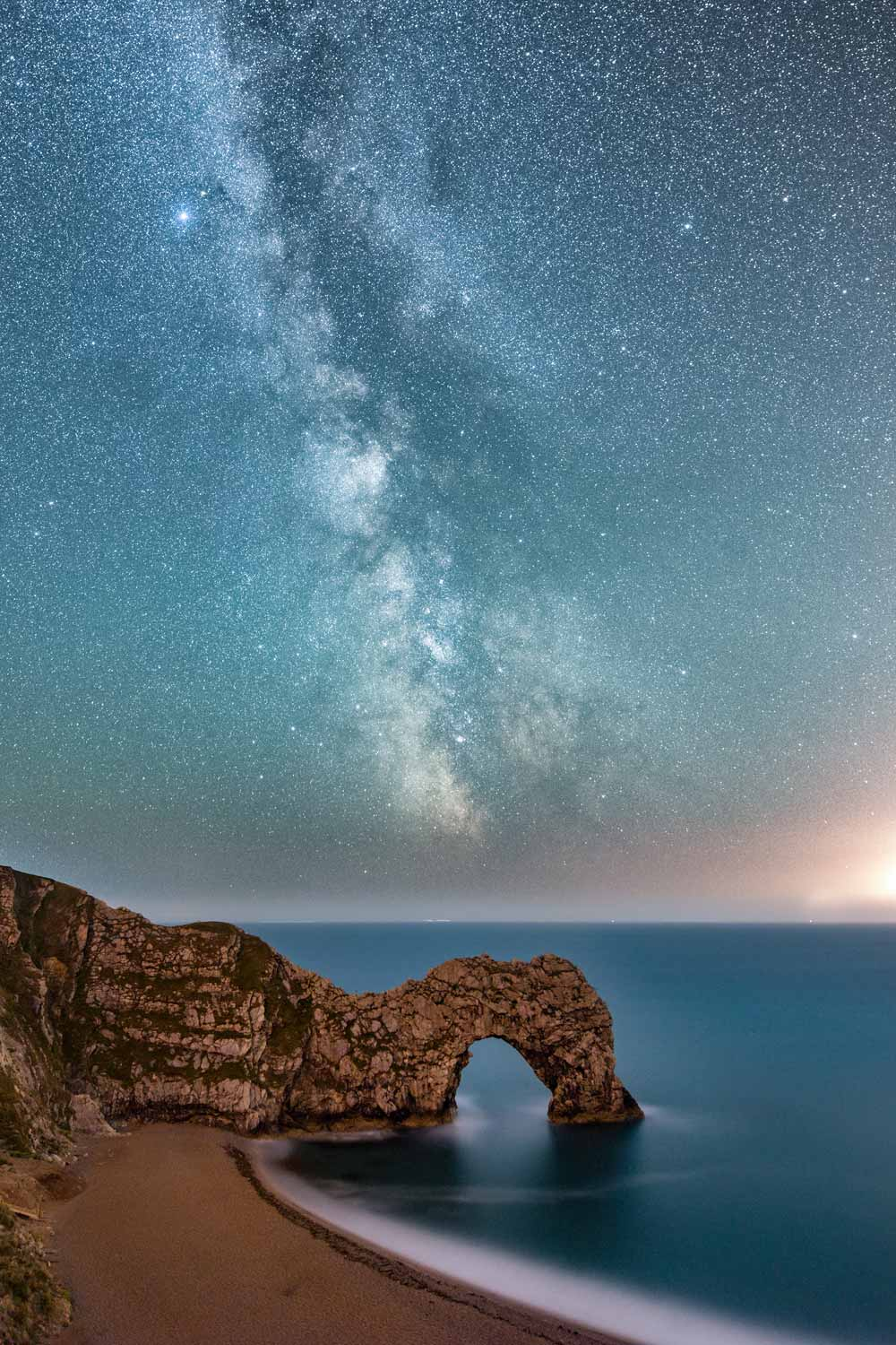 Summer Nights At Durdle Door