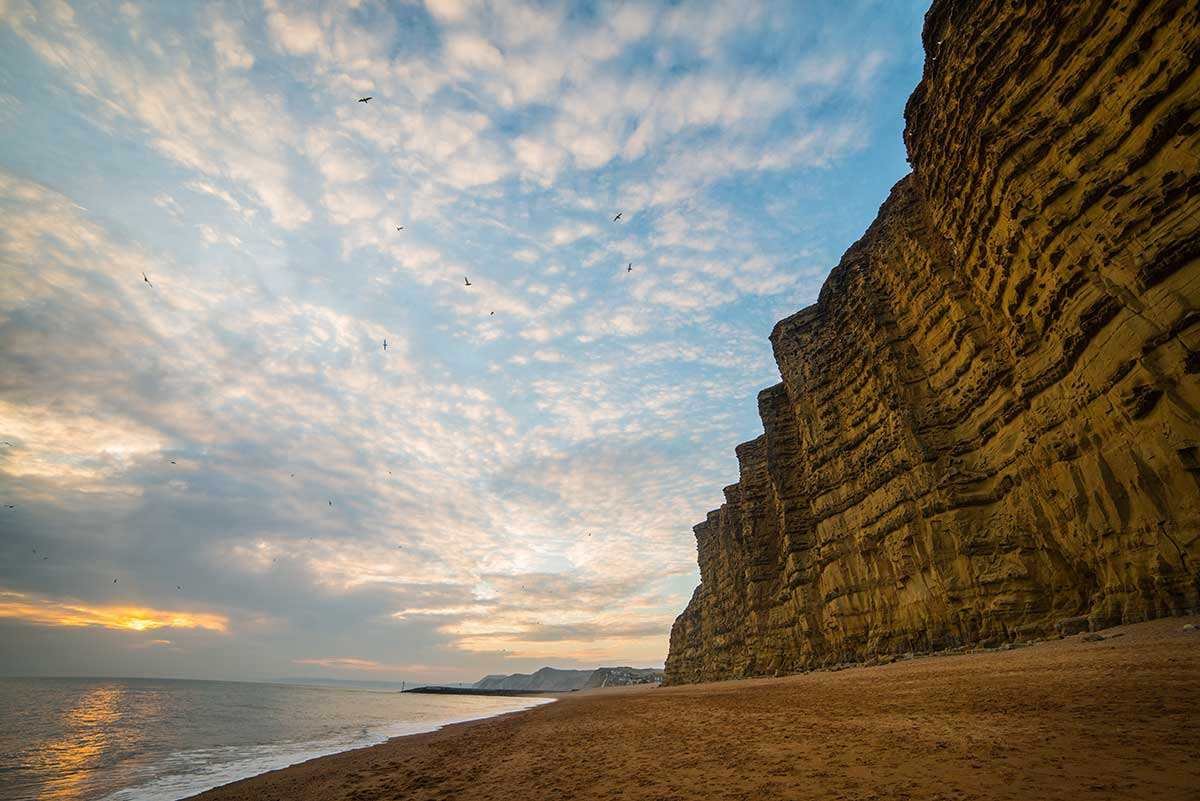 Towering East Cliff