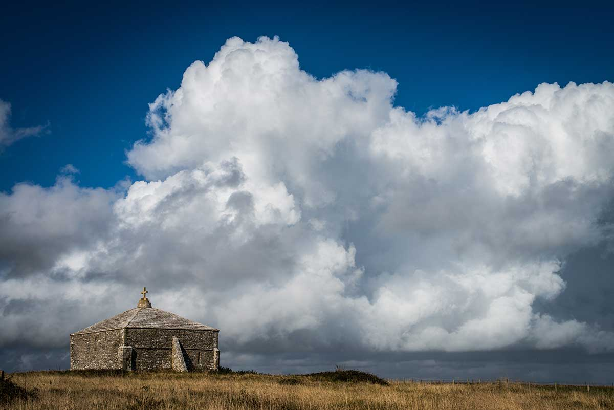 Troublesome Clouds At St Aldhelm's Chapel