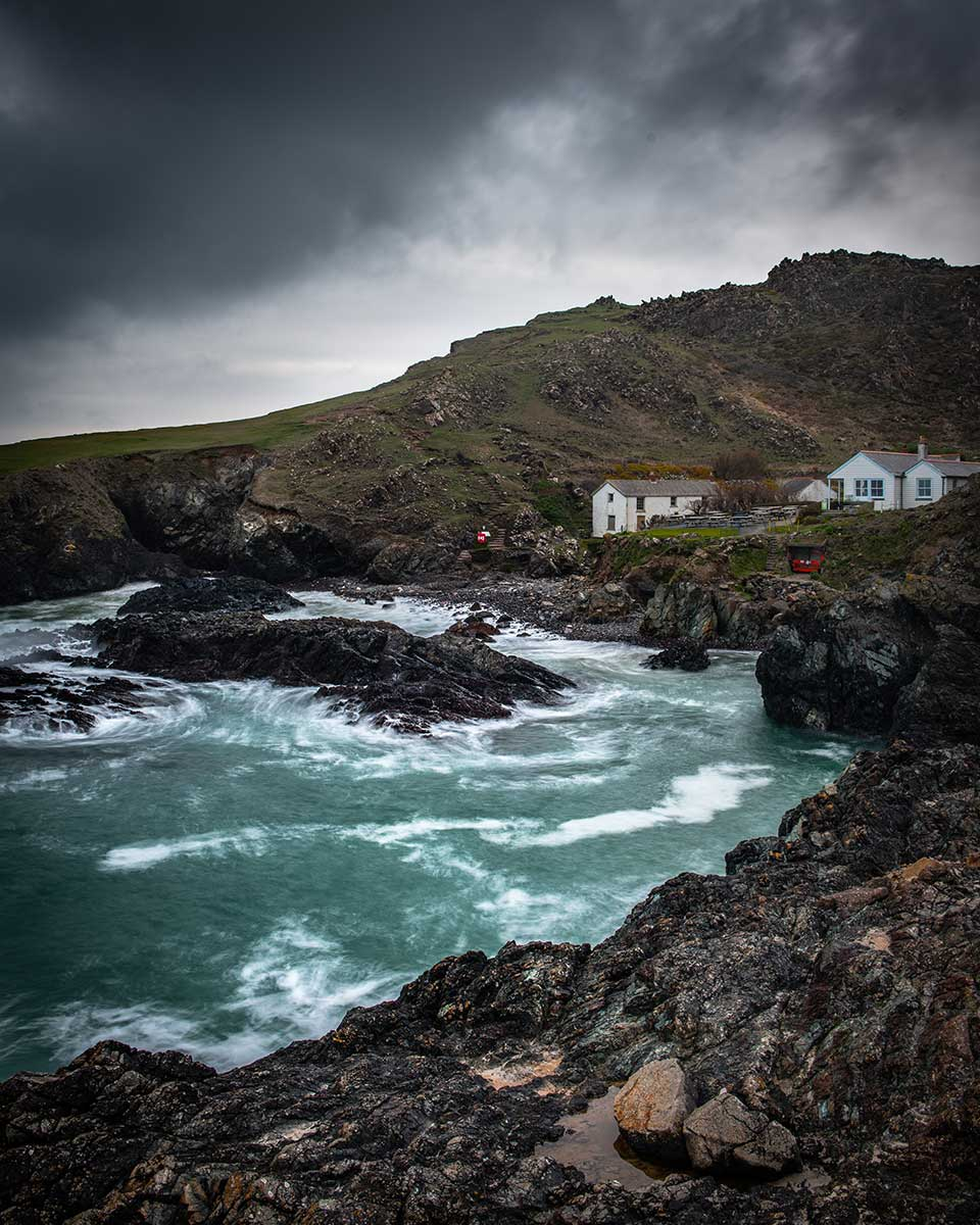Winter Storm At Kynance Cove