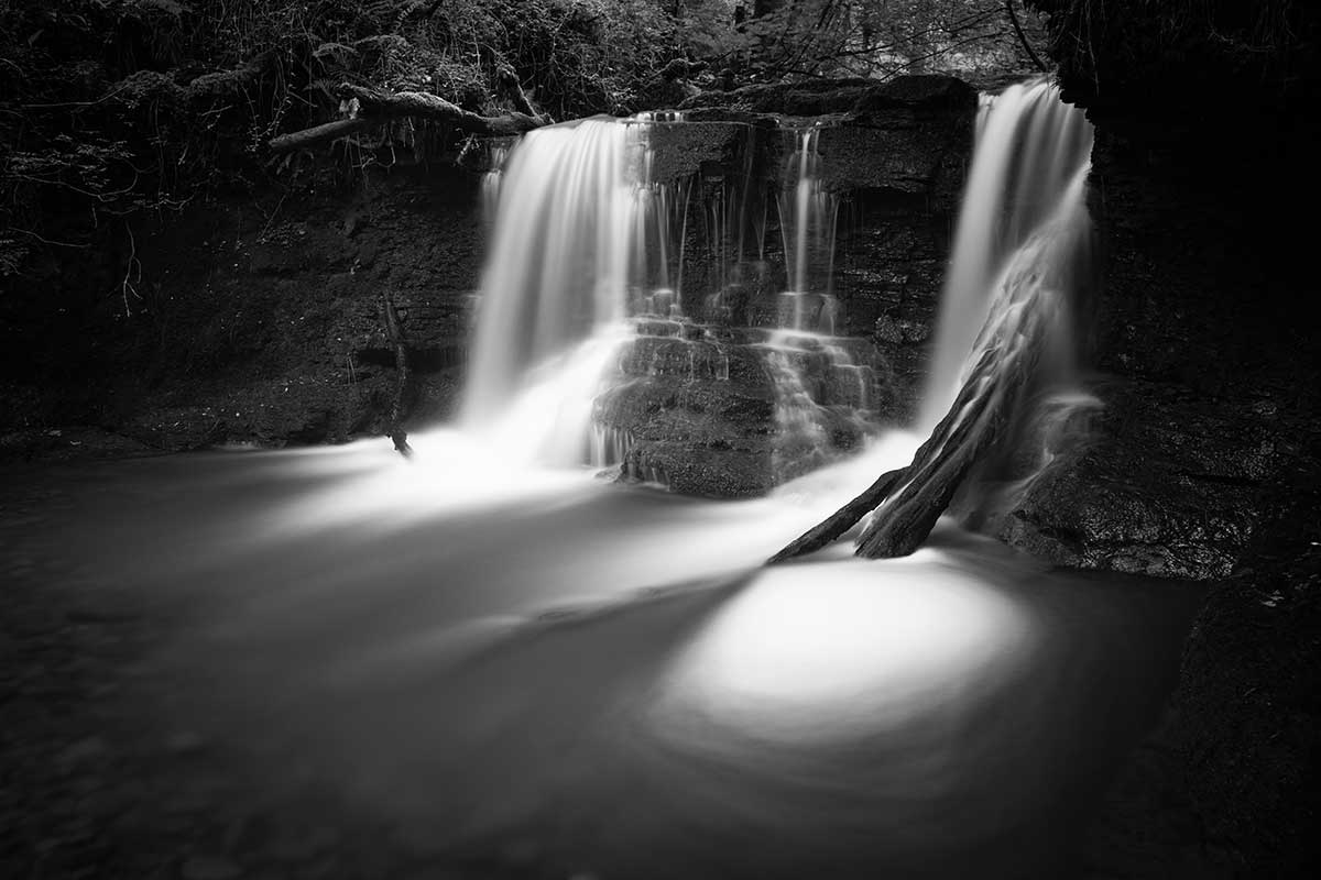 The Witches Pool at Pwll-yr-Wrach - Welsh waterfall photography by Stephen Banks